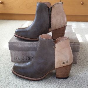 Bed Stu Tan Leather Boots Size 8